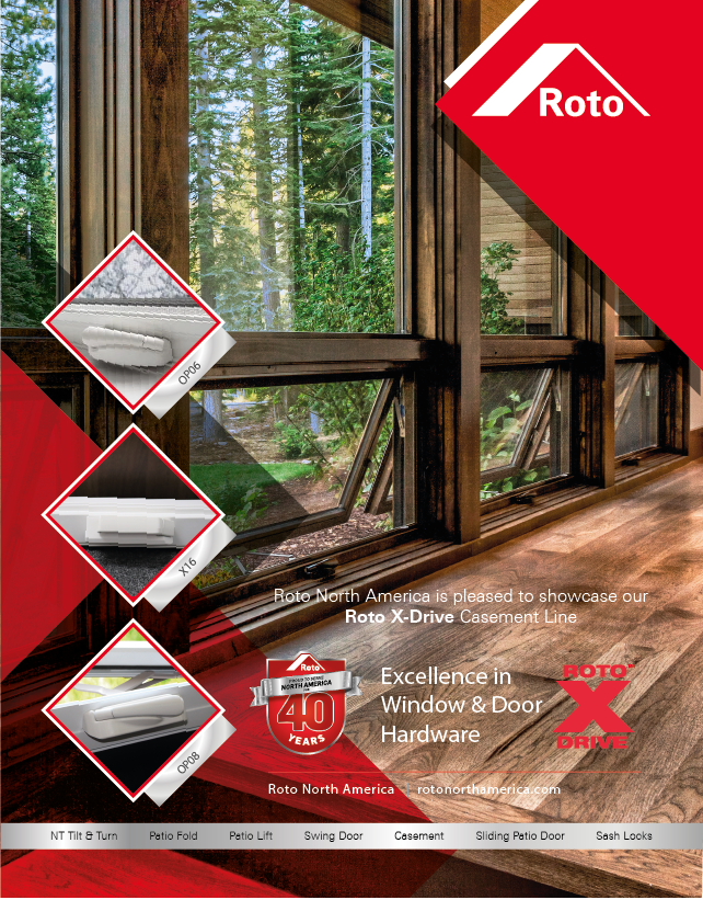 Roto North America Casement Ad